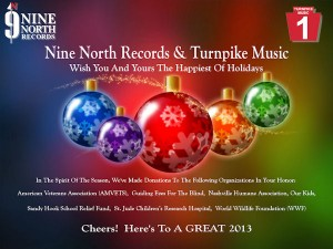 Merry Christmas from Nine North Records