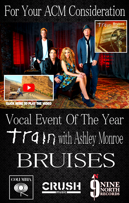 Train and Ashley Monroe Bruises